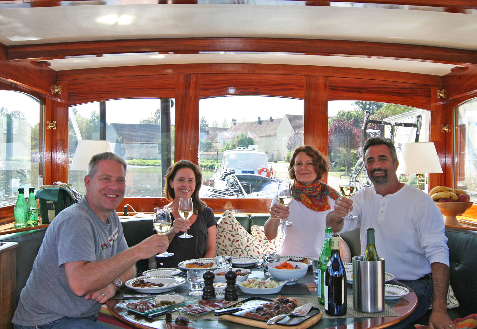 Enjoy Fine Dining Aboard