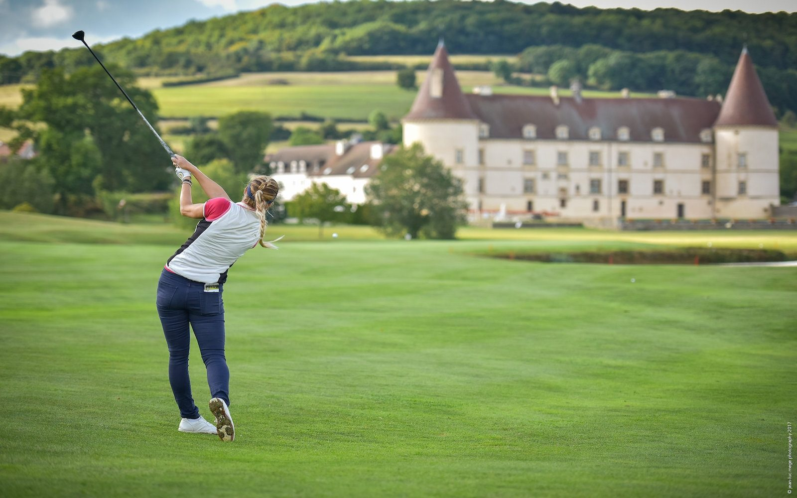Golf and Barge Cruise - Chateau du Chailly